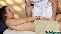 Massaged babe fingered