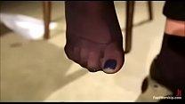 Christy mack foot worship