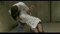 Nurse caught by mental patient bondage