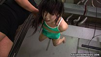 Asian freak tied up to be sexually tortured by ...