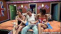 Orgy - British amateur girls gangbang swingers ...
