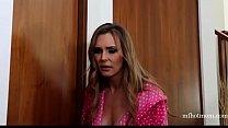 British slut Tanya in NOT a lesbian taboo three...