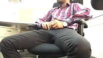 Indian guy mastrubating flashing big dick in of...