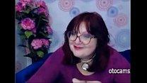 Busty BBW mature masturbating on webcam - otocams.com