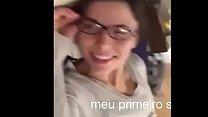 brasileira amadora achou que não ia doer Thumbnail