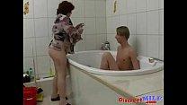 BBW Mom Elena and Slava Russian Way
