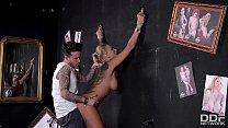 Beautiful Tattooed Milf Kayla Green gets tied u...