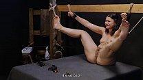 Punished little whore kicking around Thumbnail