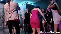 Glamour skank slammed