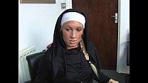 Krystal Niles gives a harsh handjob