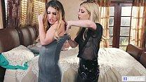 Lesbian lovers catfighting - Kristen Scott and ...