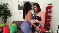 Big Booty Babes Sara Jay & Raquel!