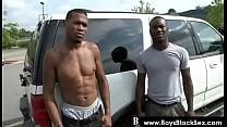 Blacks Thugs Breaking Down Sissy White Boys Hard 21