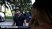BAITBUS - Amateur Anal Gay Sex With A Man Bear in Miami!