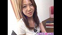 Yuka Koizumi gets boner in her nasty slit