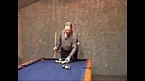 MILF Fucked On Pool Table Husband Watches