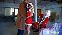 Lady Diamdond And Nikita Ways Bang Santas Cock In A Christmas Orgy