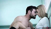 Schoolgirl seduces handsome gym teacher but the...