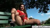 Cute Amateur Teen Girl Masturbating clip-18