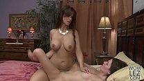 Syren De Mer teaching Jessica Rex how to lick p...