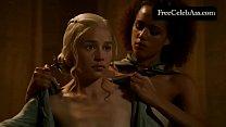 Emilia Clarke nude in the bath Game Of Thrones ...