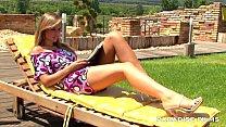 PARADISE FILMS Peaches having fun under the sun Thumbnail