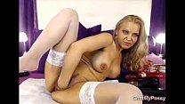 Webcam Blonde Milf Dildoing Her Pussy - cha... Thumbnail