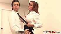Hot Slutwife Sabrina Cyns Fucks Her Co-worker