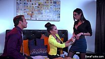 Dava Foxx Hard Threesome thumb