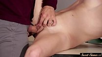 Young schoolgirl cockriding horny teacher