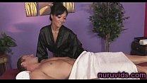 Amazing Asa Akira gives a hot massage