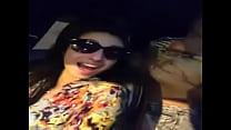 Group fun in car girls exposing boobs to lucky guy Thumbnail