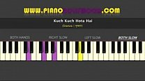Kuch-Kuch-Hota-Hai-Easy-PIANO-TUTORIAL-Stanza-Both-Hands-Slow - 10Youtube.c