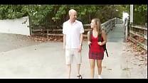 18 Year-Old Sasha Hall Gets Her Twat Cream-Filled - HD