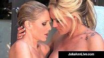 Busty Blonde Milfs Julia Ann & Tyler Faith Wet ...