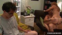 A Lamer Watches His Wife Allie Haze Getting Fuc... Thumbnail