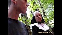 street on fucks nun Naughty