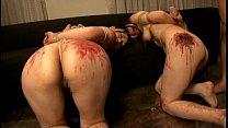 緊縛され身体の動きを制限された美女たち…強制レズプレイやロウソク責めを受け苦しみながらも感じてしまう
