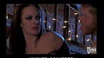 Sex starved brunette Alektra Blue has rough-sex...