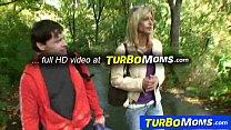 Threesome sex in park with euro milf Klarisa Leone - download porn videos