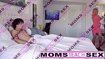 Moms Teach Sex - Hot mom caught jerking off st...