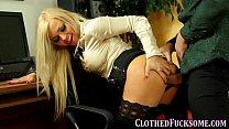 Dressed glam slut cummed - Download mp4 XXX porn videos