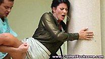 Slut fucked fully clothed outdoors - PornoXO.com Thumbnail