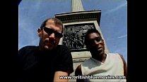 Eva Brown Interracial British Gang Bang In London