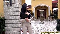 Big ass latina real estate agent sucks and bang...