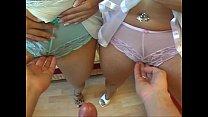 Twins Anja & Katja Threesome - FFM- Die Subjekt...