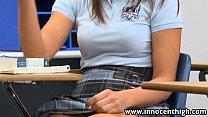 InnocentHigh Sexy schoolgirl Rilynn Rae classro...