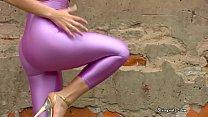 Shiny spandex videos