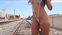 Hot ass girl teasing [porn intro]