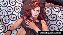 Horny Cougar Shanda Fay Helps Cock Fuck Her Moi...